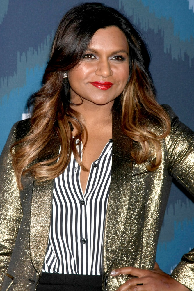 Mindy Kaling smiling