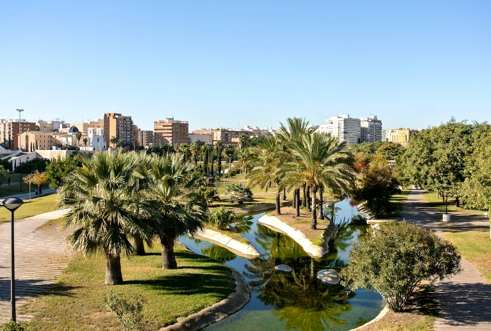 This is photo of Túria Gardens in Valencia
