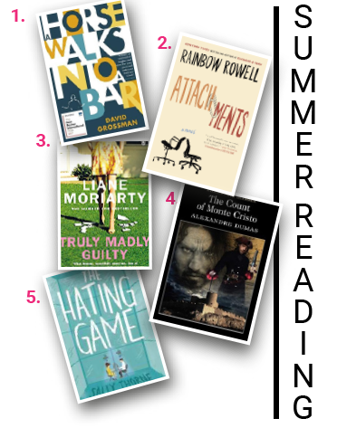 Books you might like to read by the seaside this summer