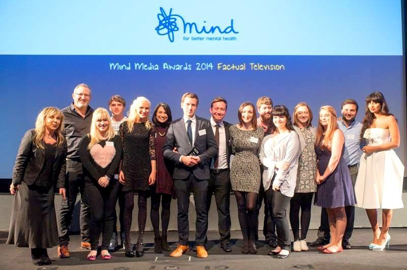 Diaries of a Broken Mind won Best Documenraty of the Year at the 2014 Mind Media Awards
