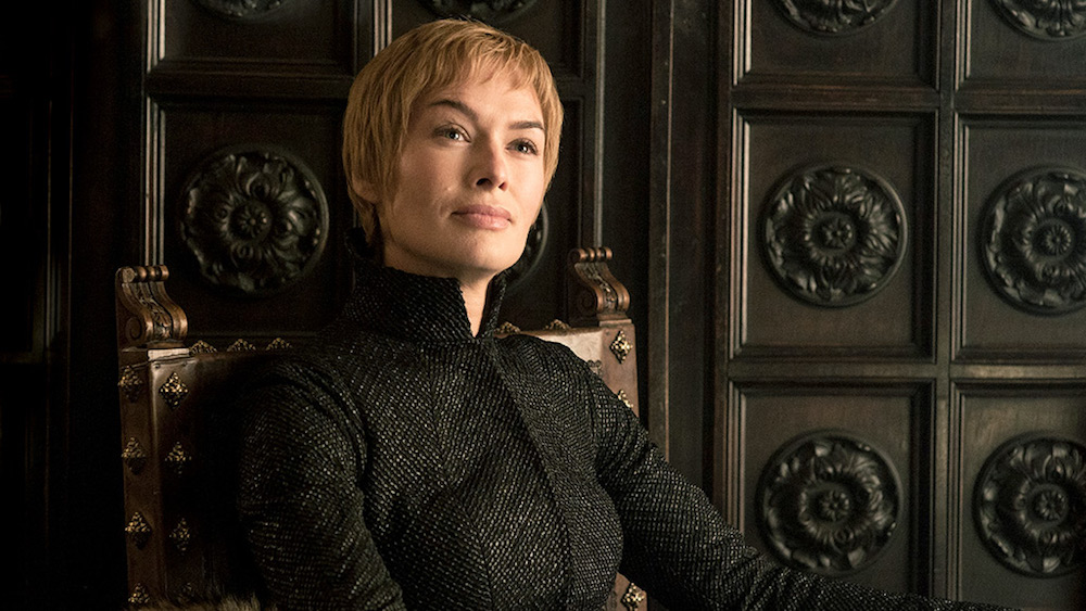 Lena Heady playing Cersei Lannister in Game of Thrones