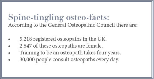 Osteopathy facts