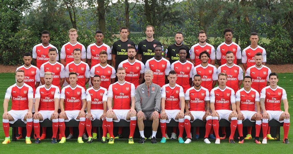 Arsenal Men's Football Team 2016/17