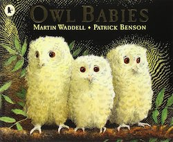 Owl Babies by Martin Waddell and Patrick Benson cover