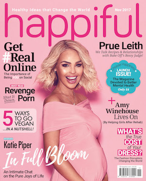 Katie Piper on the November cover of Happiful magazine