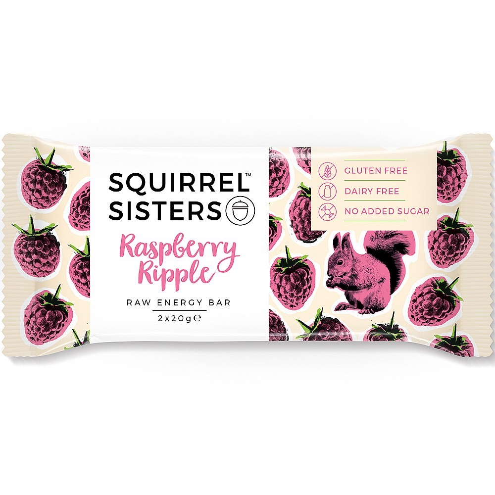 RASPBERRY RIPPLE RAW ENERGY BAR