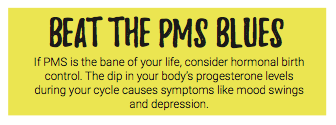 Beat the pms blues