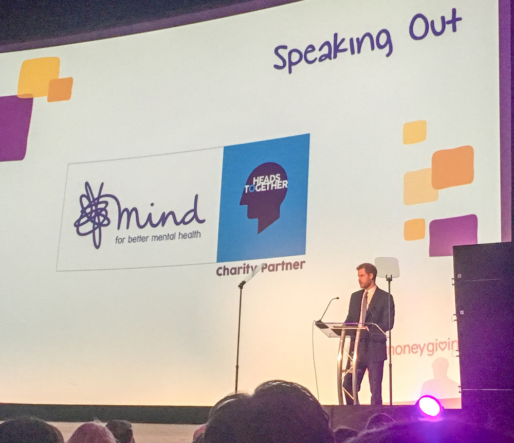 Prince Harry Mind Media Awards