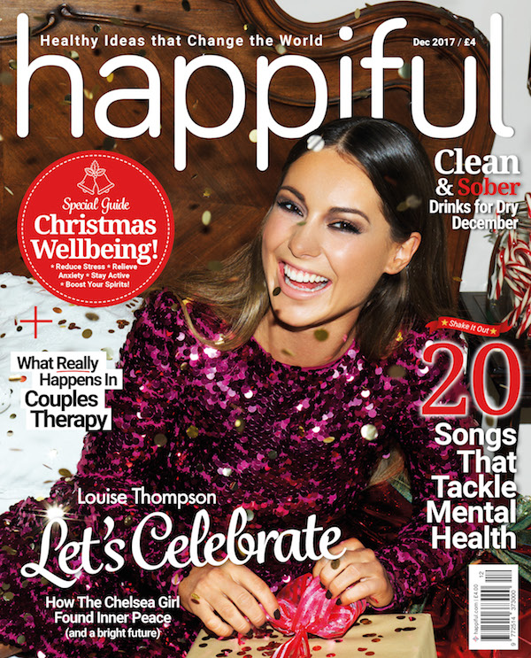 Louise Thompson on the cover of Happiful magazine