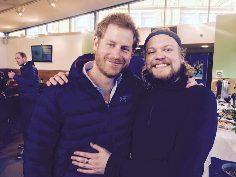 Jake and Prince Harry