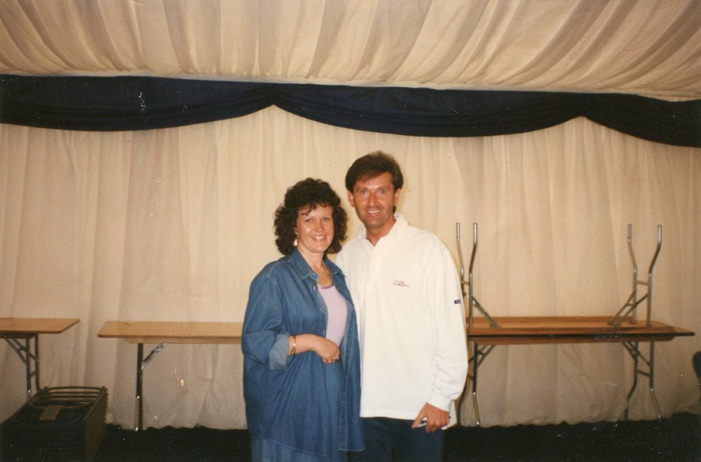 Karen and Daniel O'Donnell