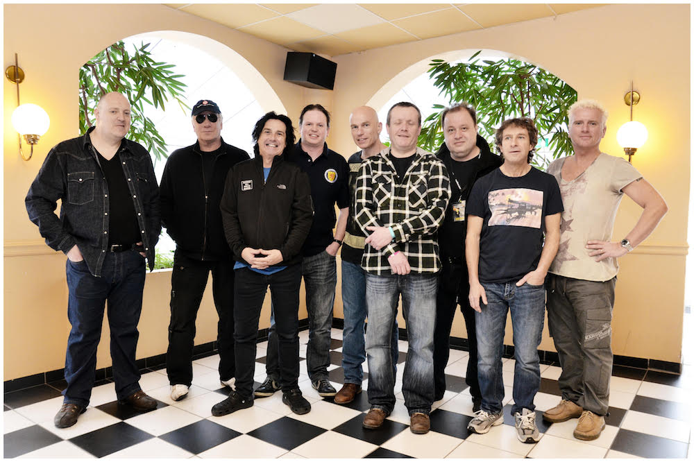 Kevin with Marillion