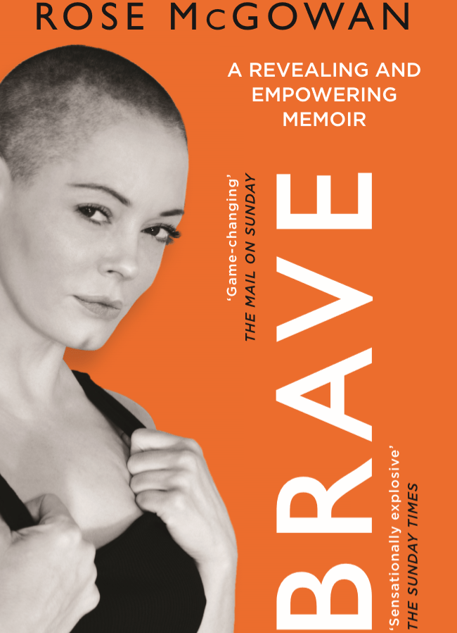 Cover for Rose's book, Brave