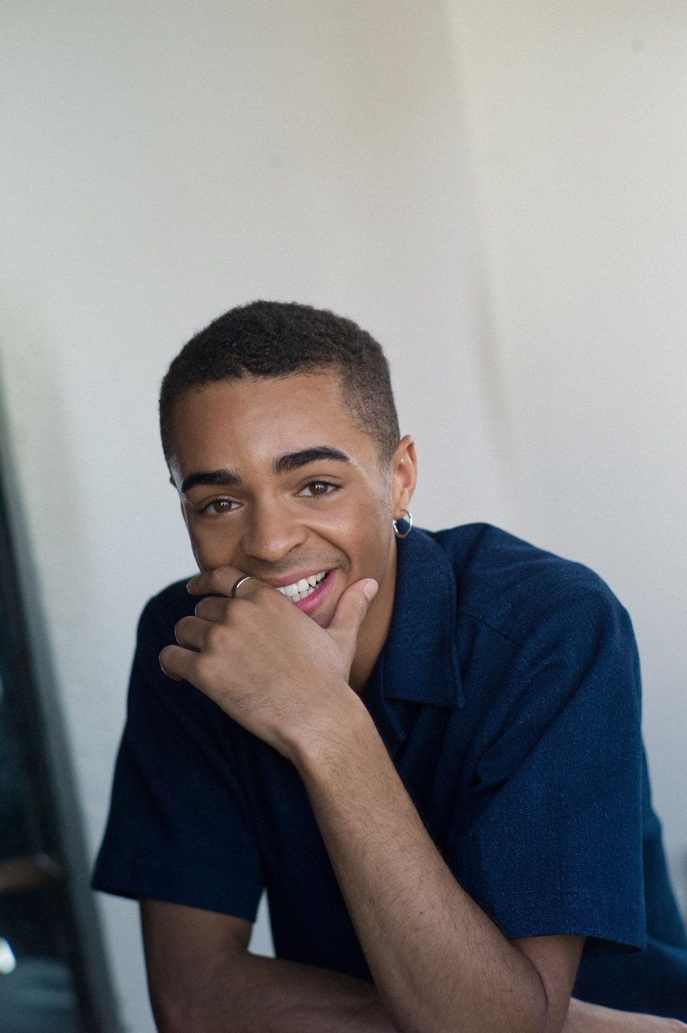 Layton Williams laughing