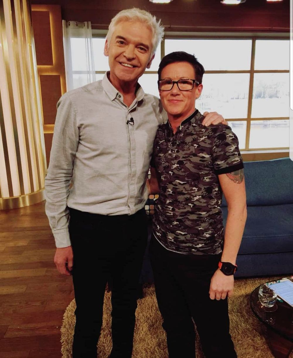 Bruce and Phillip Schofield