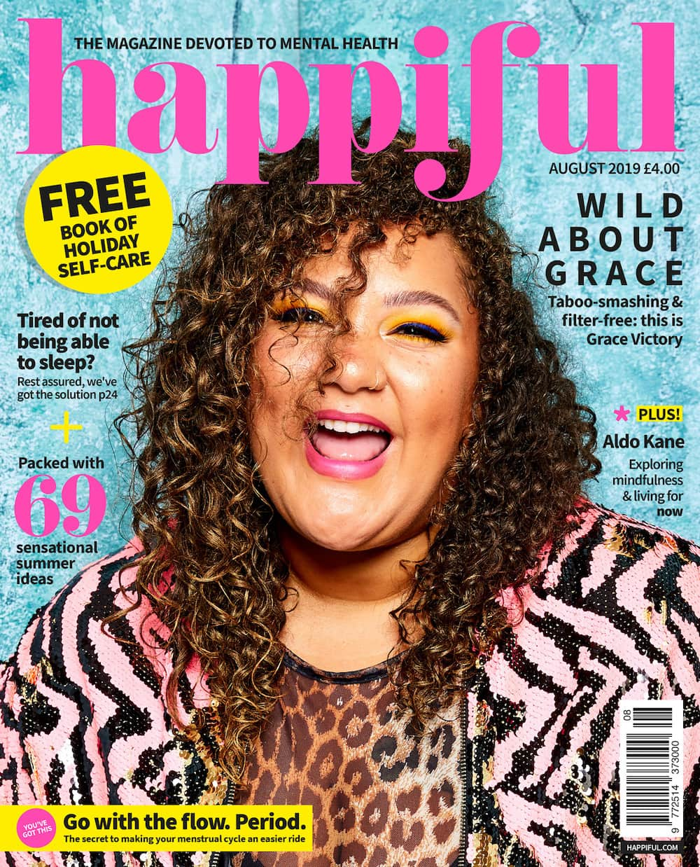 Happiful August 2019 cover