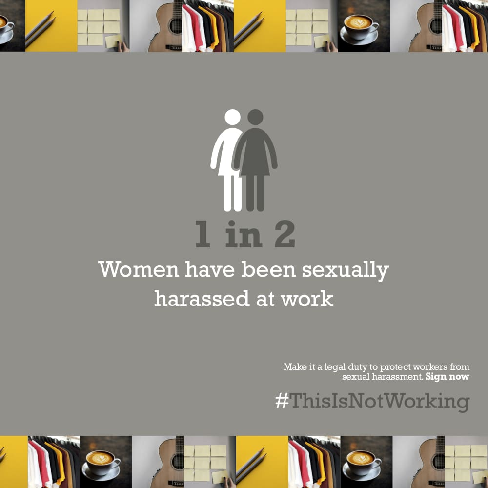 Legal Advice Line for Women Experiencing Sexual Harassment at Work