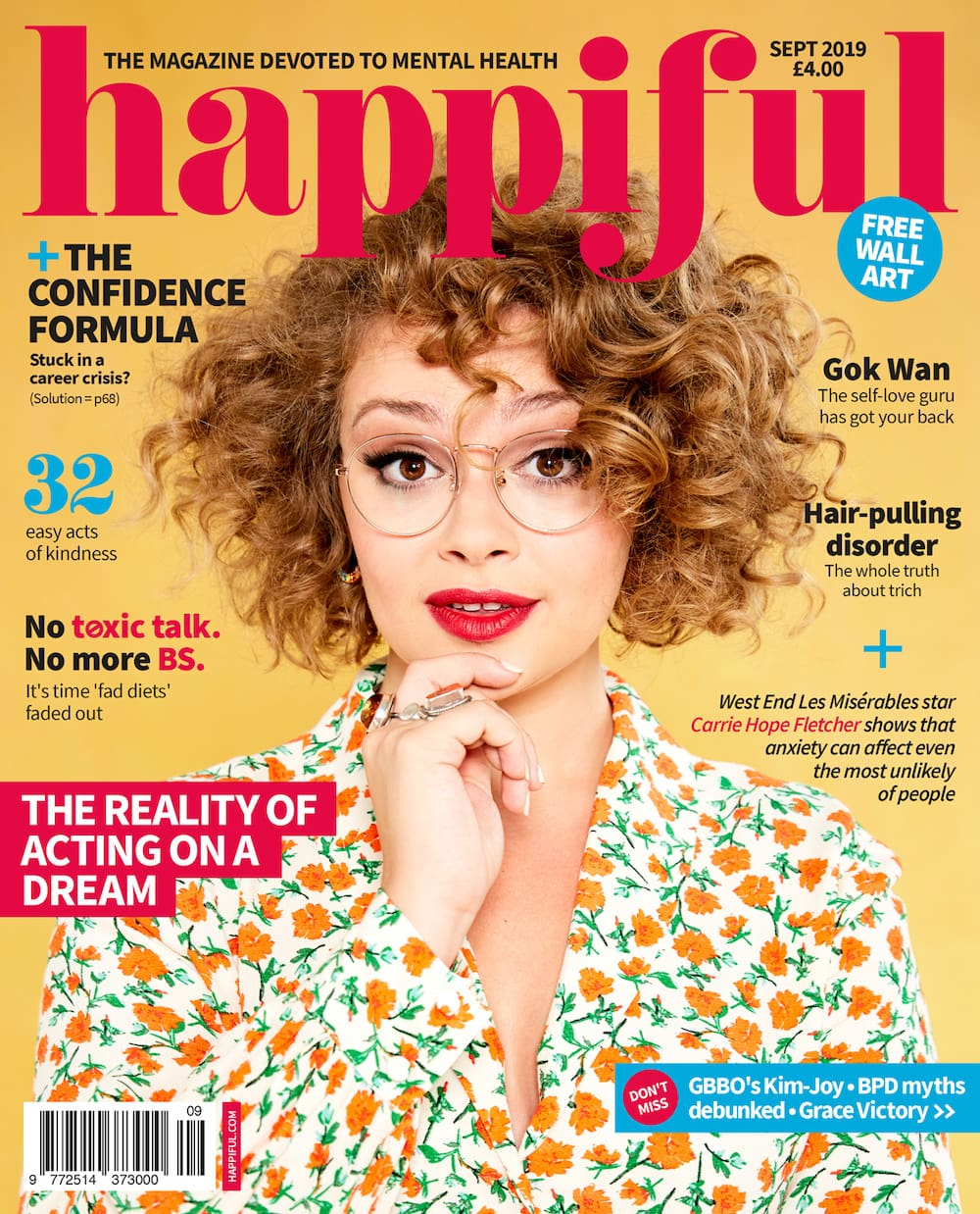 Happiful September 2019 cover