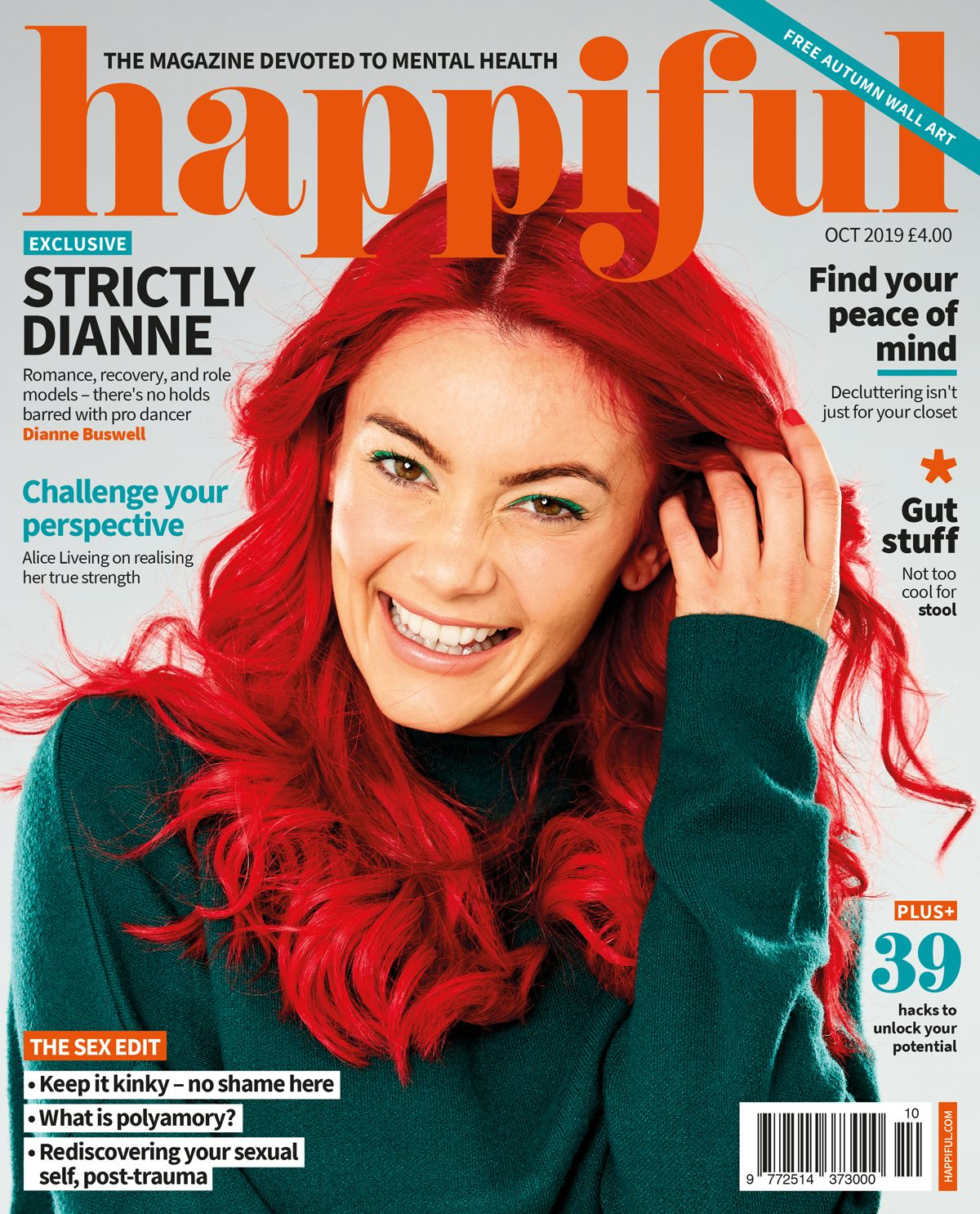 Happiful October 2019 cover