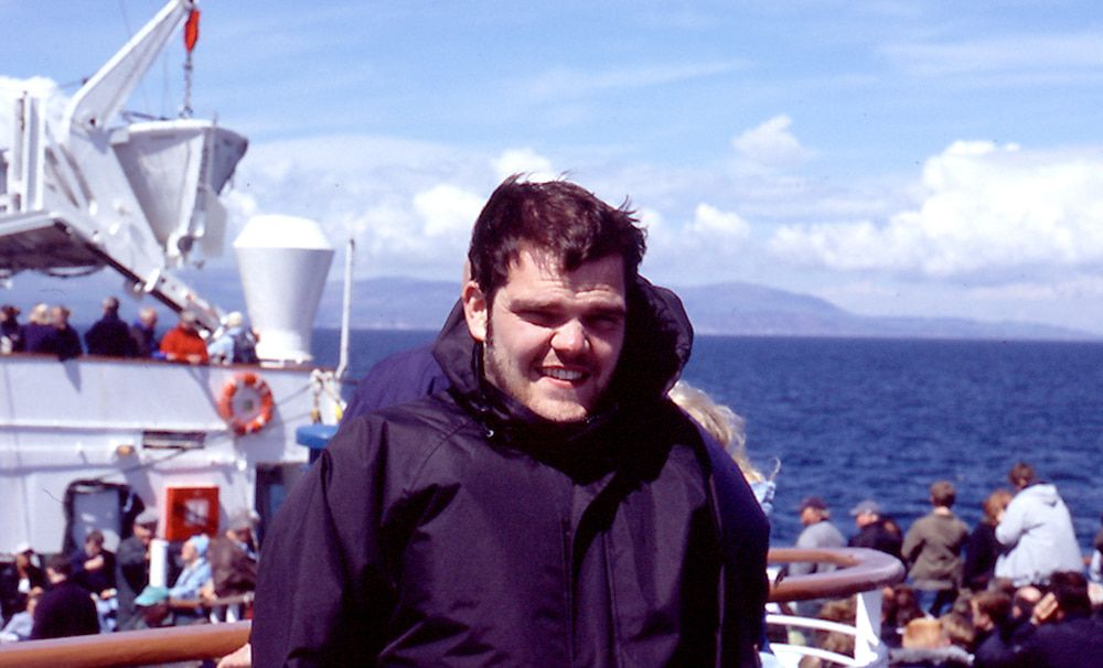 David on holiday in 2005