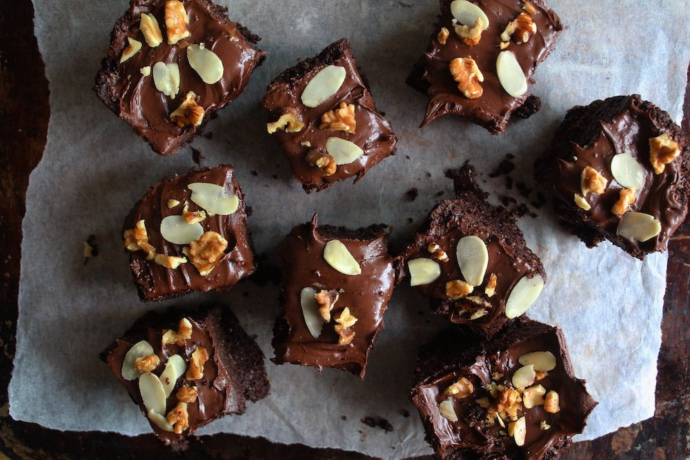 Dreamy brownies from Gemma's cookbook