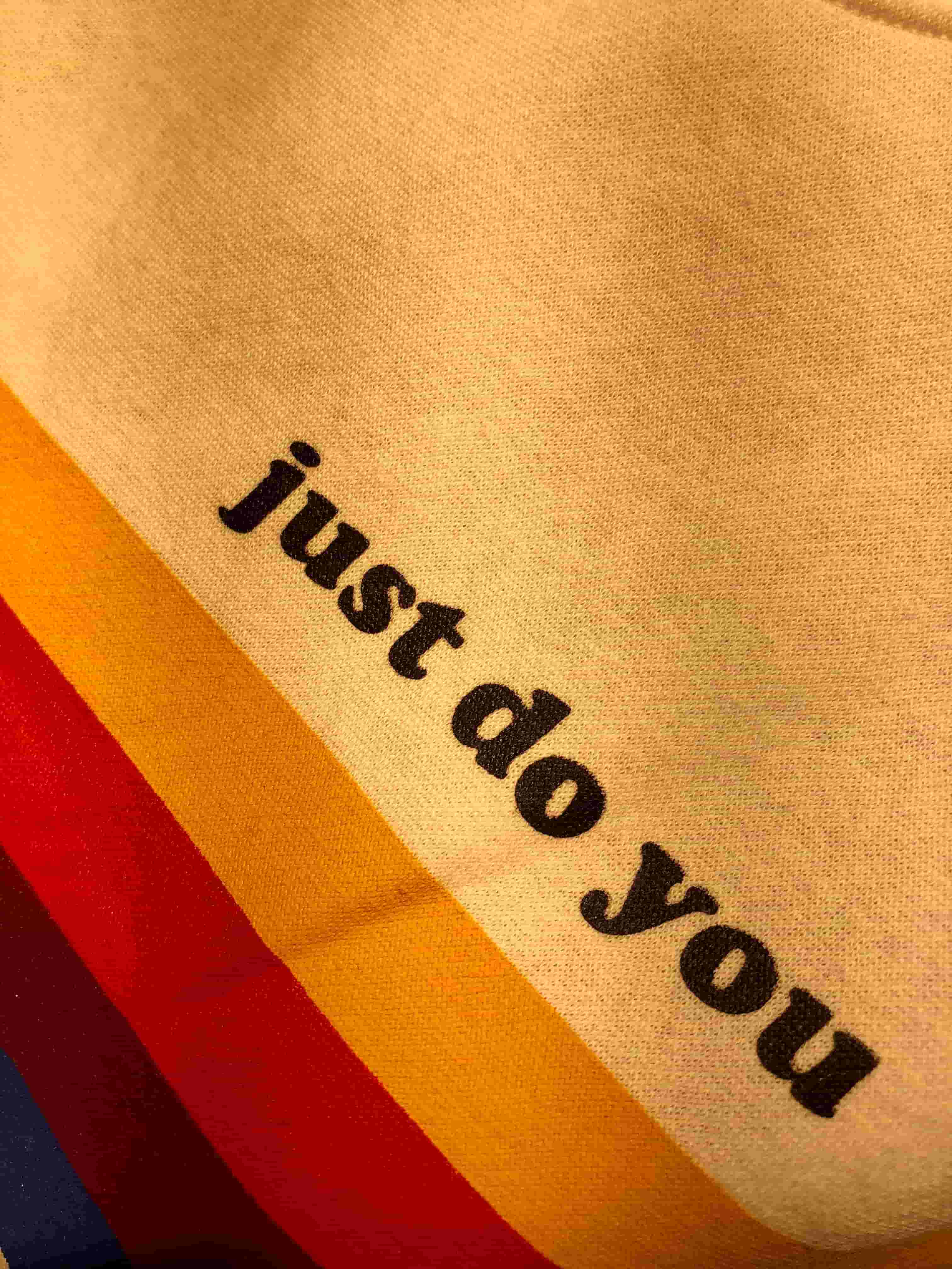 An image saying 'just do you'