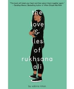 Book cover: The love and lies of Rukhsana Ali by Sabrina Khan