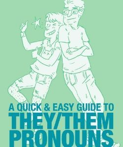 Book cover: A quick and easy guide to they the pronouns