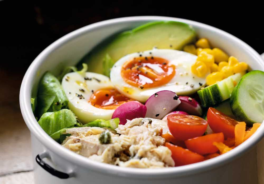 Tom's Tuna Cobb Salad
