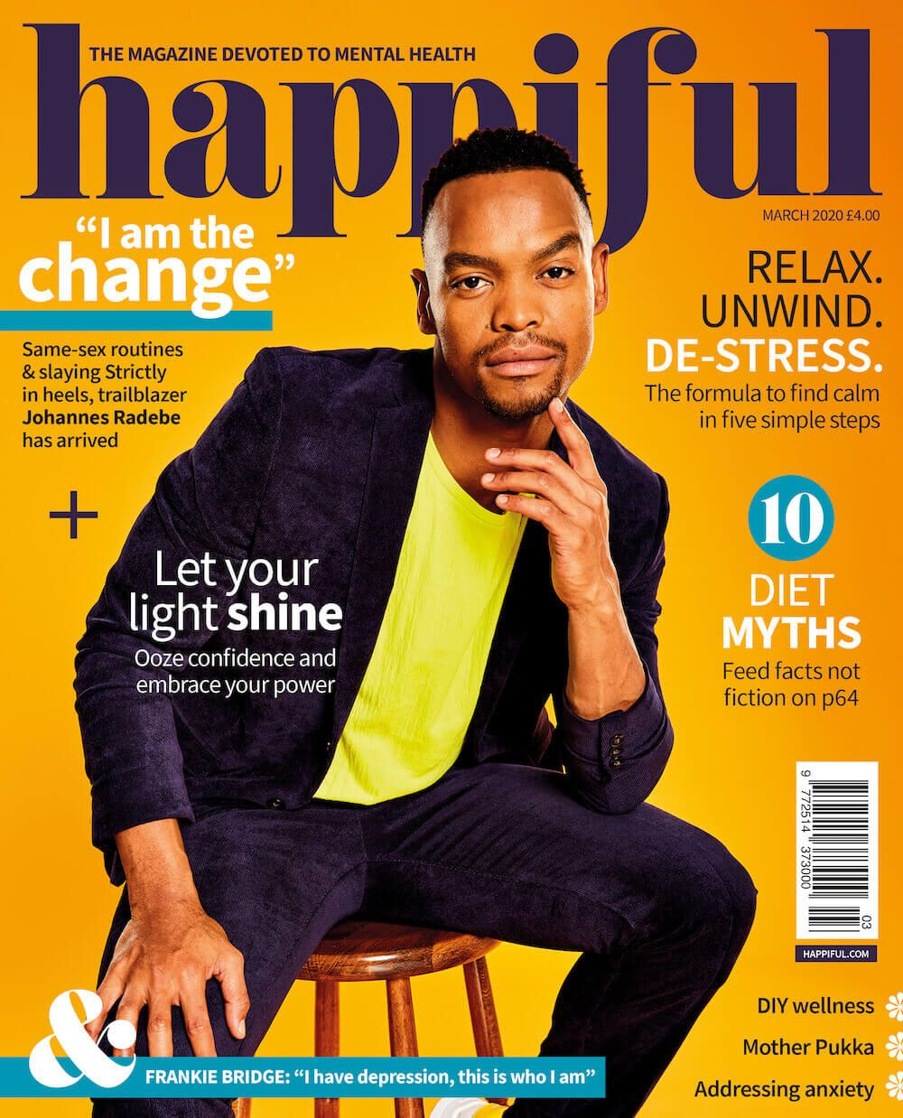 Happiful March 2020 cover
