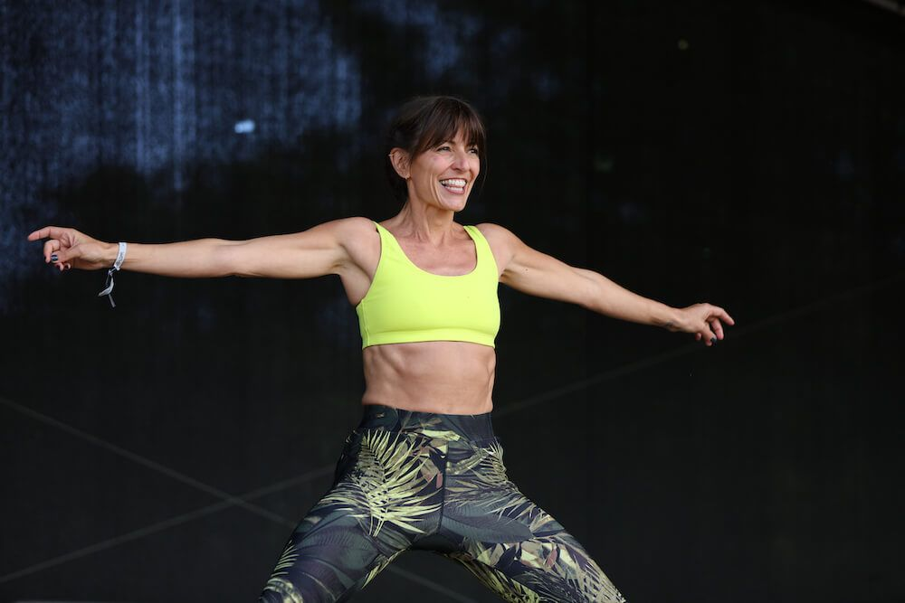 Davina McCall on living life to the fullest