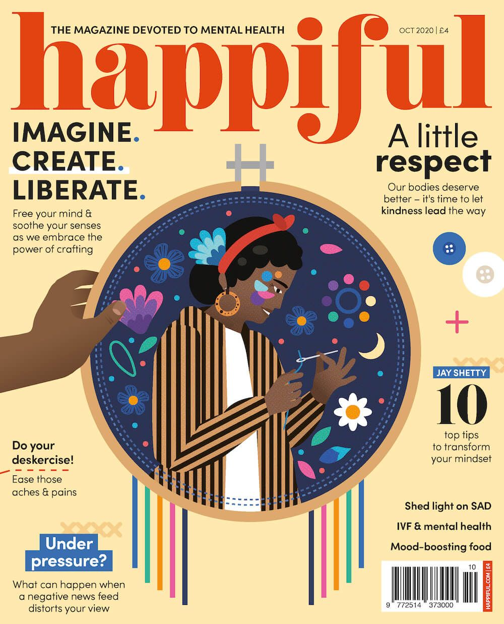 Happiful October 2020 cover