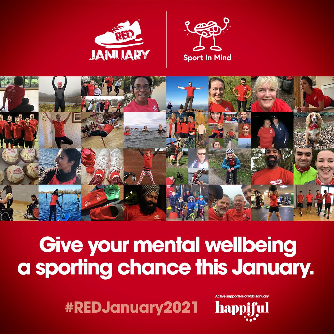 Happiful and RED January: Kick starting 2021 together!