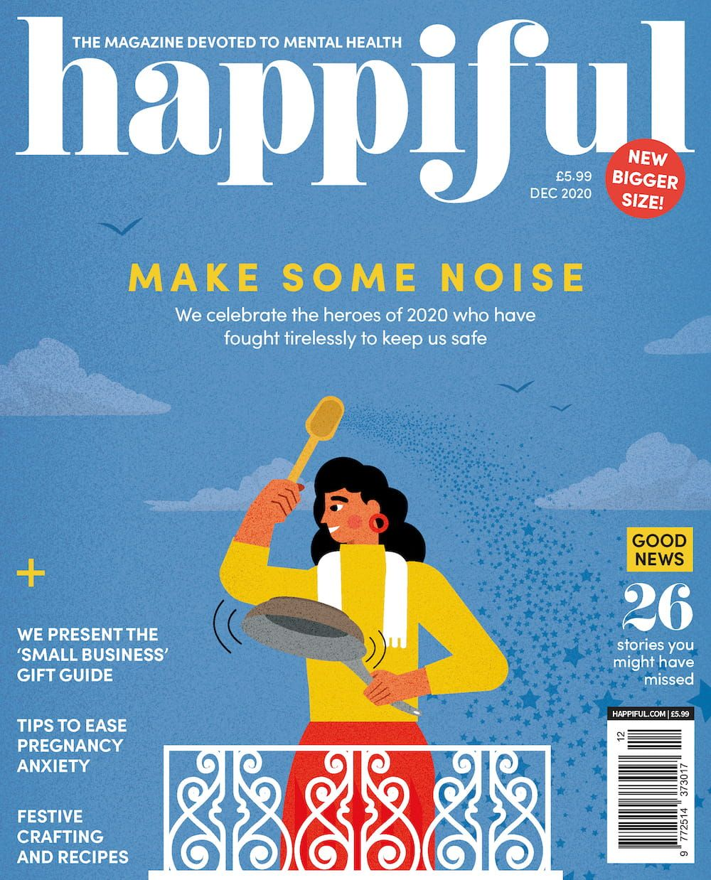 Happiful December 2020 issue