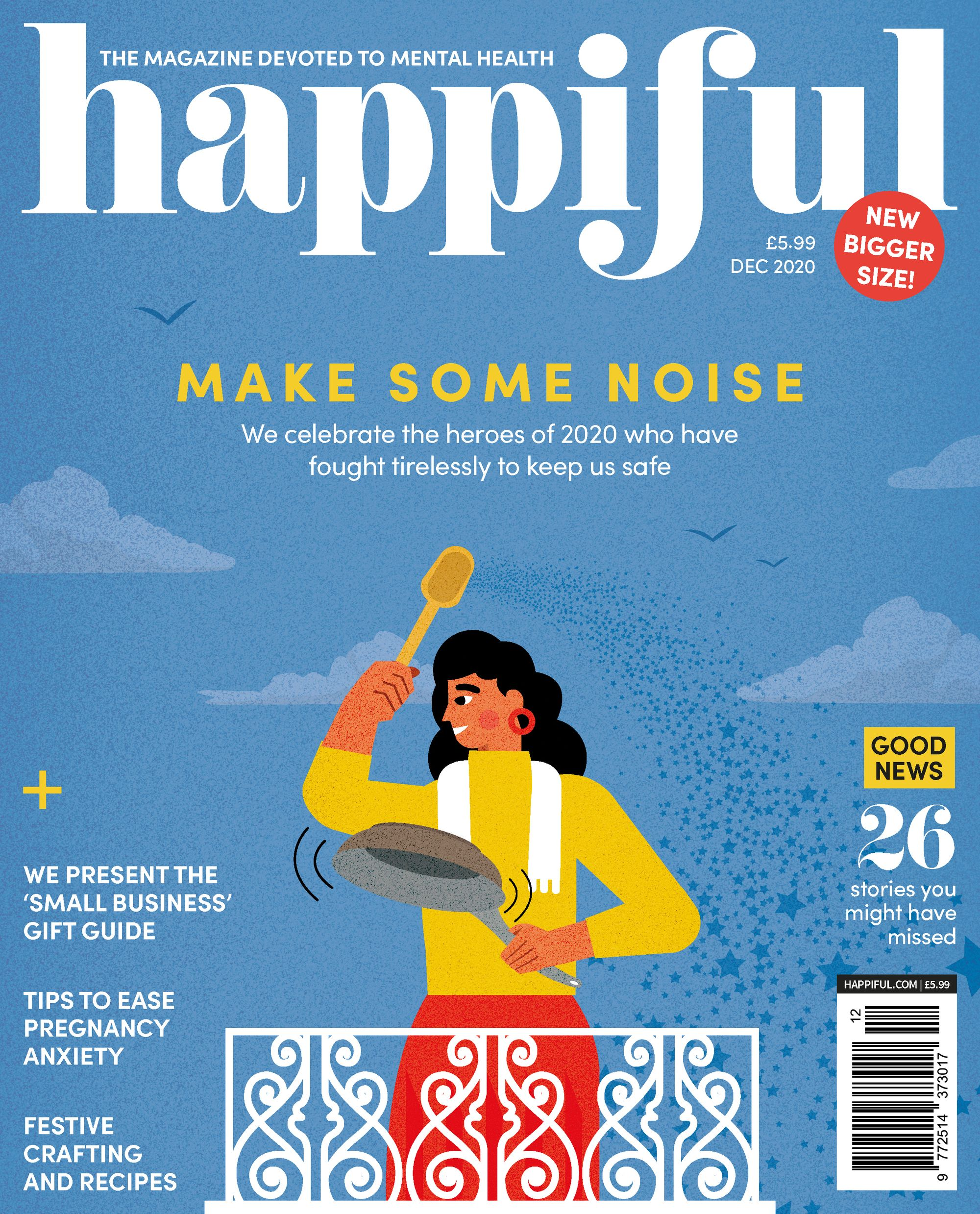 Happiful magazine: The story so far