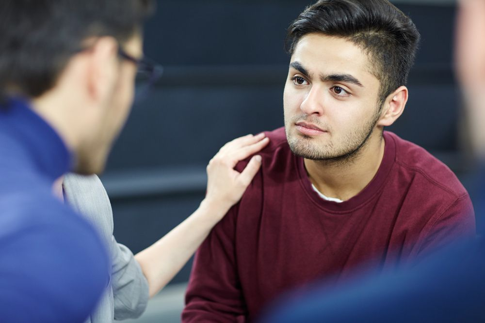 Young men are increasingly reaching out for mental health support