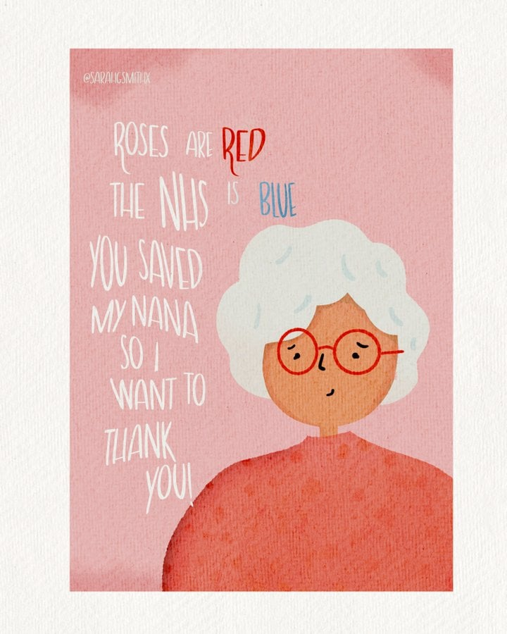 Spread love and support with NHS Valentine's Day cards