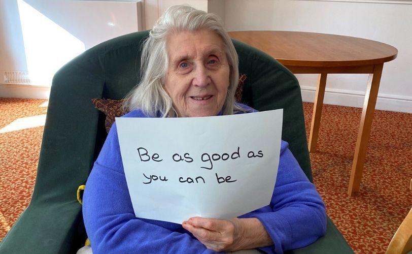 Female pensioners share life lessons for their younger selves