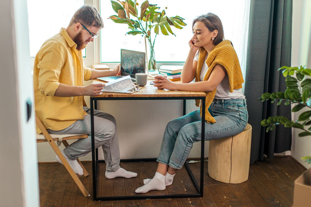 How to reset the dynamic with your partner after a year of WFH