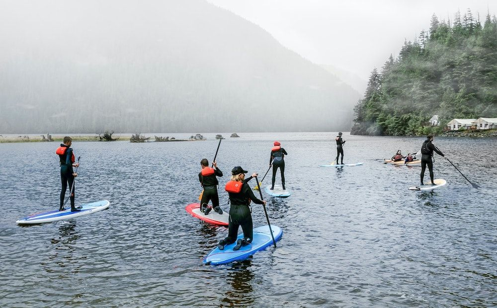 Falling isn't failing: How I found wellness on the water