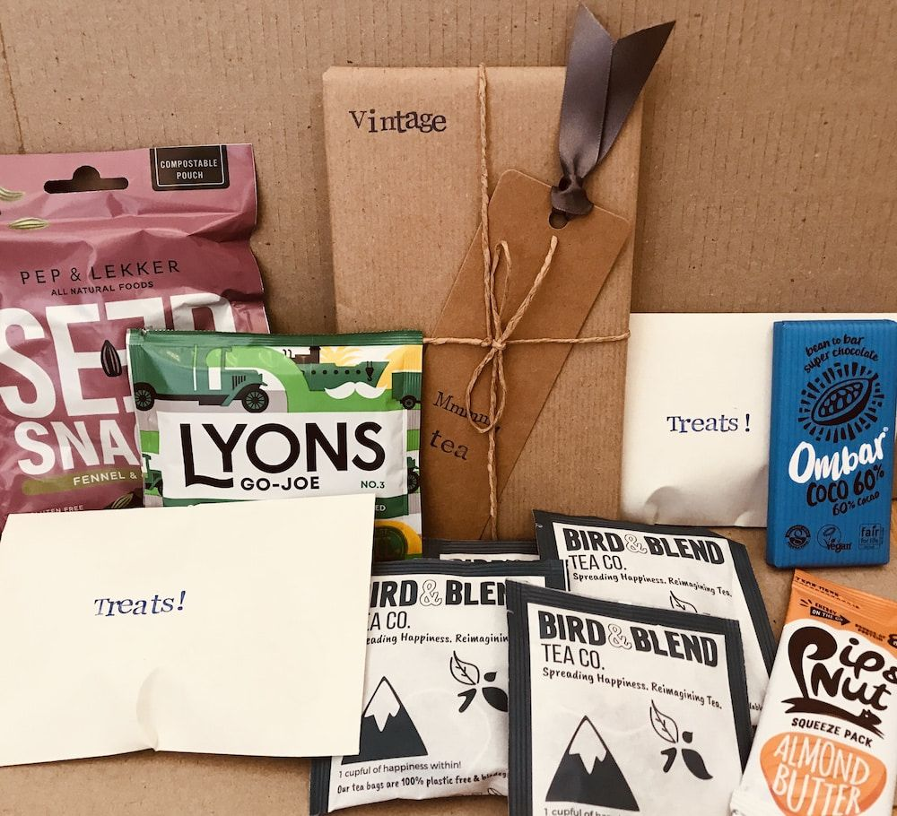 Sustainable book club box