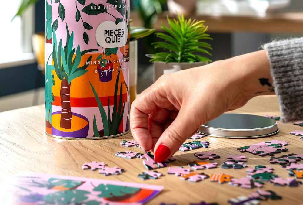How can puzzles help us be more mindful?