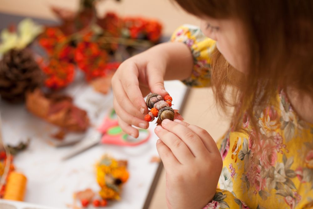 Autumn crafts for families